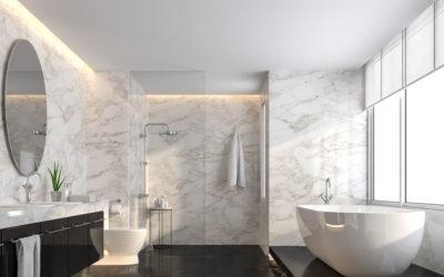 L'utilizzo del marmo in bagno